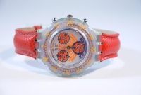 Swatch AQUACHRONO SBG 100 Red Harbour