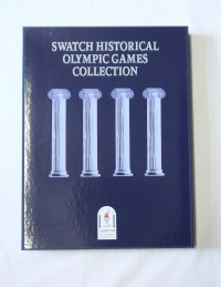 Swatch Olympia Spezial SZS 01 Historic Olympic Games